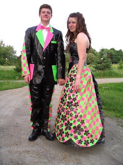 Matching Prom Dress to Guys vest/tie - Non-Ski Gabber - Newschoolers.com