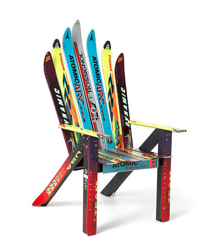 Adirondack Chair Old Skis Ski Gabber Newschoolers – Adirondack Ski Chairs