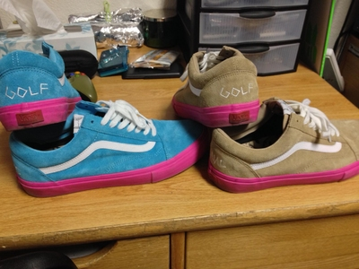 1afea23a114f Vans Syndicate Golf Wang Size 11 - Sell and Trade - Newschoolers.com