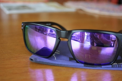 02fd7200363 OAKLEY HOLBROOK Julian Wilson Matte Black Violet Iridium - Sell and ...