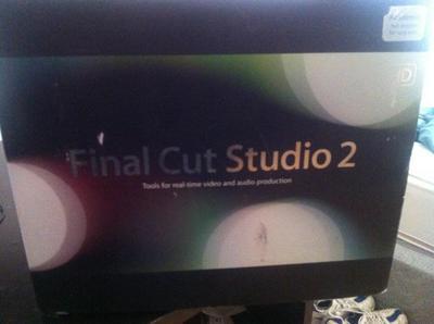 Final Cut Studio 2 - Sell and Trade - Newschoolers com