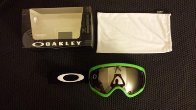 1 oakley canopy prizm goggles with neon green frame and prizm black iridium lens 130 - Green Canopy 2016