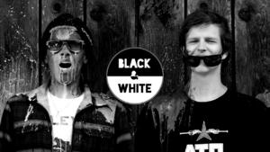 Black&White : Fall at Stubai