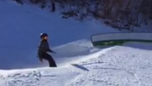 back flip fail