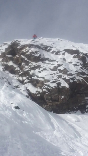 50+ ft cliff at copper