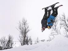 Ski Tandem Backflip - Jesper Tja�der & O�ystein Braten