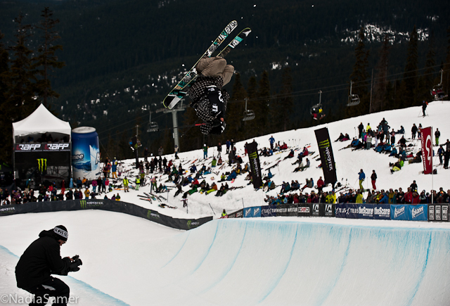 Jossi at AFP World Champs Superpipe