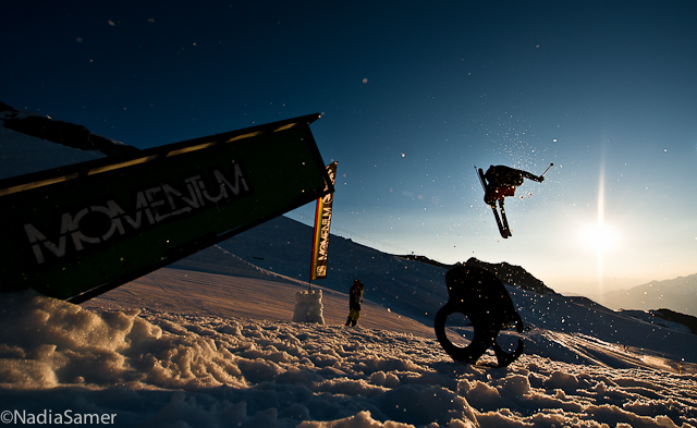 Tom Wallisch sending into the sunset.