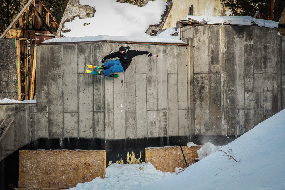 Abandoned House Wallride