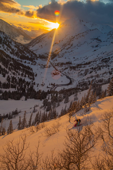 Little Cottonwood Sunset