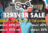 Saga Outerwear Sale!