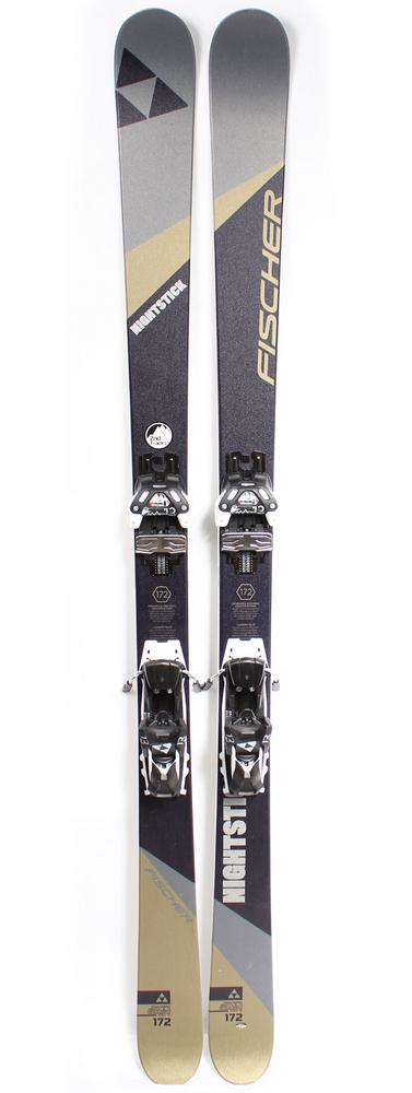 2ab5386739 2016 Fischer Nightstick Skis w  Attack 13s - 172cm (Price Drop ...
