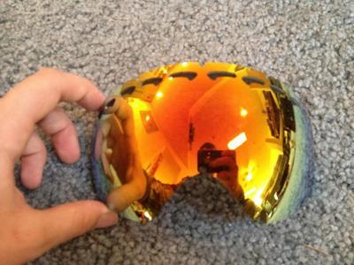 Fs Used Oakley Crowbar Fire Iridium Lens 25 Sell And