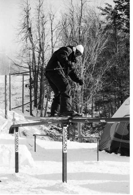 rail jam at st-brun with legare, a long time ago!