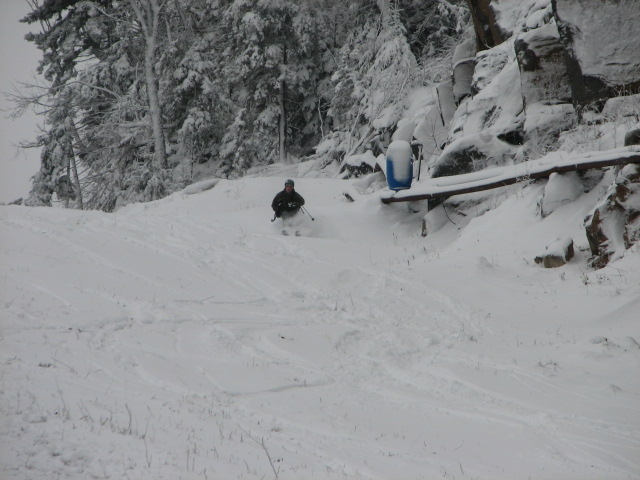 Early season shreddin