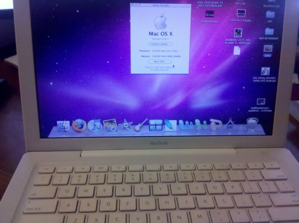Macbook 2.4 2gb