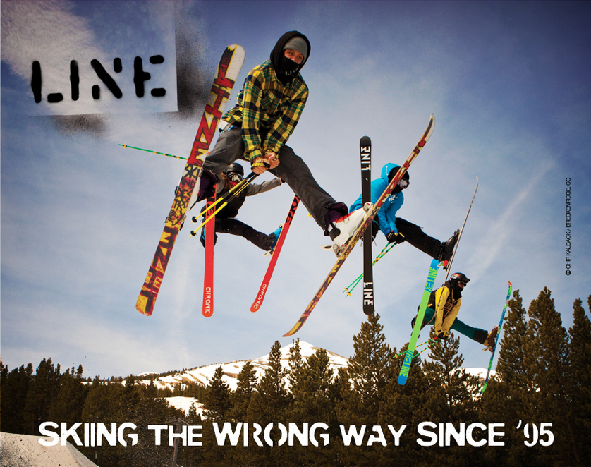 Line Skis - Party Shot!