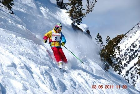 Freeride Comp at Mt. Rose