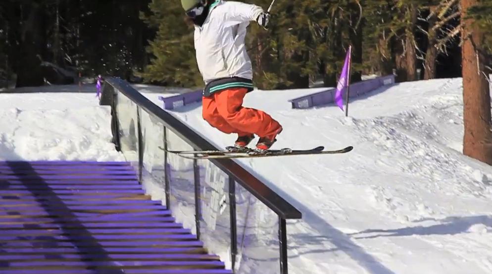 Telemark Jibbing