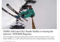 Salt Lake City's Sander Hadley is Winning The Internet