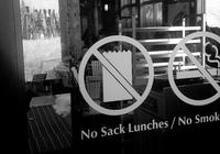 Brown bags not welcome: The modern plight of skiing�s homemade lunch